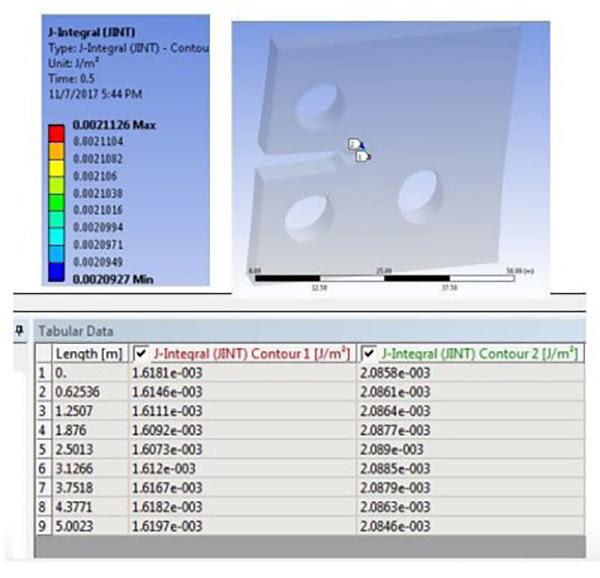 Подготовка модели для расчёта распространения трещины в ANSYS Mechanical