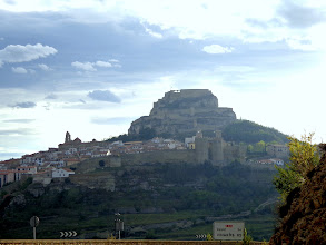 Photo: Morella, looking west from the bypass