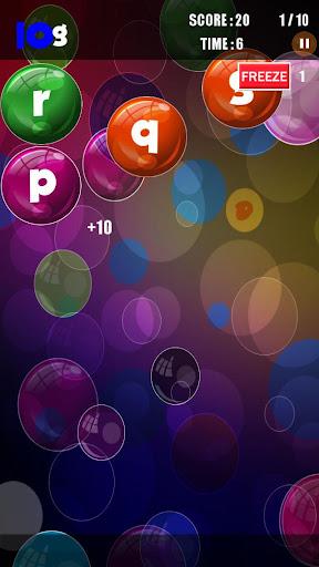 玩免費拼字APP|下載バブルストライキ - スペル app不用錢|硬是要APP
