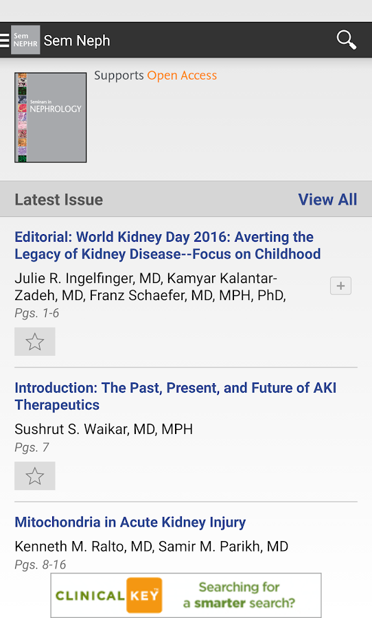 seminars in nephrology   android apps on google play