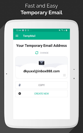 Temp Mail - Free Instant Temporary Email Address 2.11 Screenshots 5