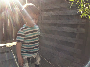 Photo: Finn Explores Out Back