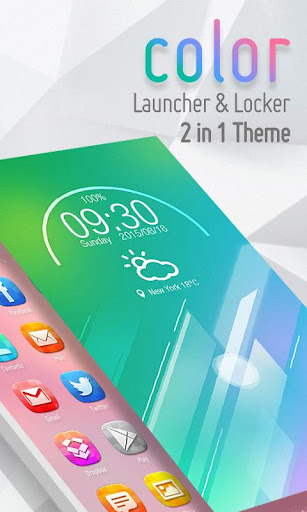 FREE Color 2 In 1 Theme