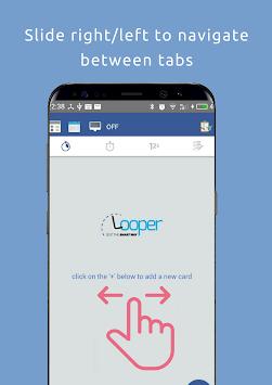 Looper: Multi Timer, Stopwatch, Interval Timer