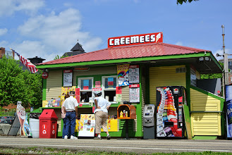 Photo: One of many creemee stops. Goodbye Burlington!