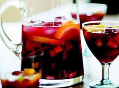 Sangria Lawry's Recipe