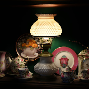 Fine China  by Lorraine D.  Heaney - Artistic Objects Cups, Plates & Utensils
