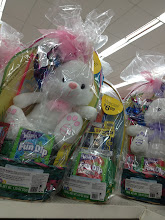 Photo: All of a sudden I saw baskets with an Easter bunny plush in them! This is perfect and just what I want. We are buying this basket to donate to someone in need, in honor of my sister Brittany, who is very ill and can't enjoy one herself. I was wanting a plush item because before she was ill, this would have been the type of thing she would have enjoyed and that my dad would have bought for her.