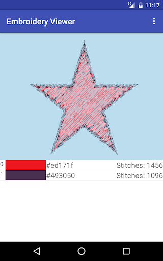 Embroidery Viewer 1.0 screenshots 5