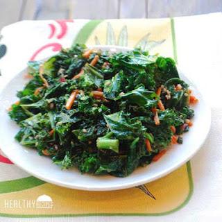 Sautéed Kale.