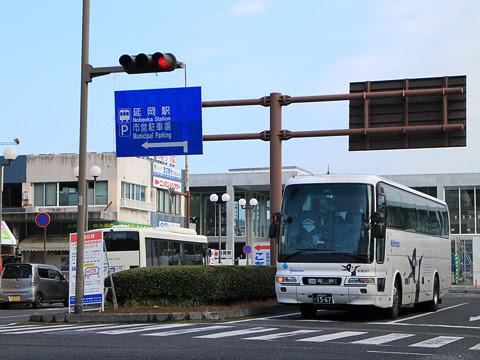 西鉄「ごかせ号」 4202 延岡駅前にて