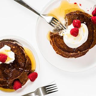 Fresh Raspberry-Quinoa Pancakes