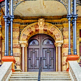 Stairway by Richard Michael Lingo - Buildings & Architecture Architectural Detail ( buildings, stairs, details, architecture, home )