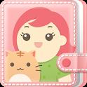 여성앱1위 핑크다이어리(생리 배란 피임 임신달력) icon