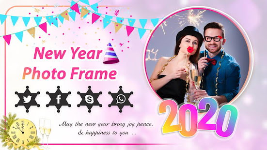 Download New Year Photo Frame 2020 For PC Windows and Mac apk screenshot 4