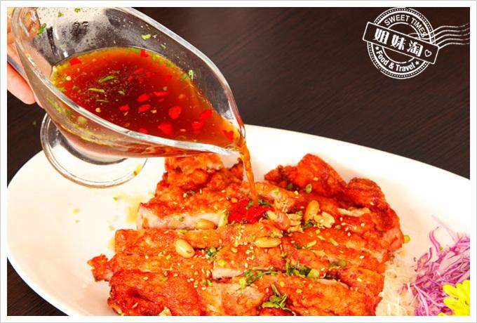 阿杜皇家泰式料理菜單泰式椒麻雞