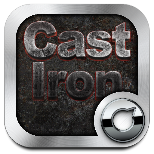 Cast Iron Solo Launcher Theme Android APK Download Free By RIU Design