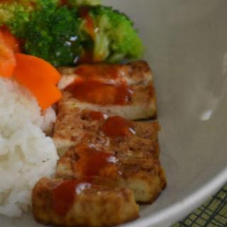 Easy Baked Tofu.