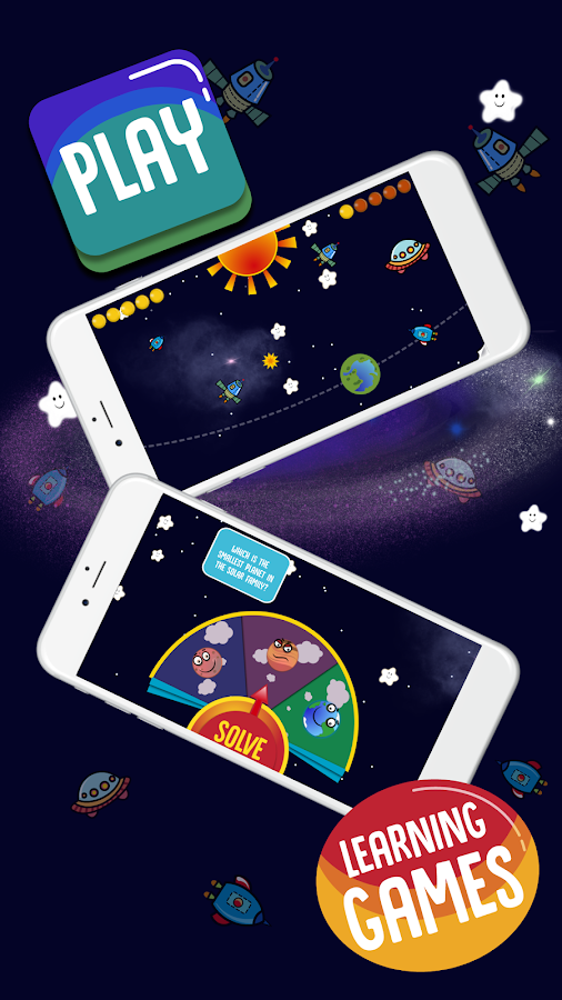 Solar Family - Planets of Solar System for Kids GE- screenshot