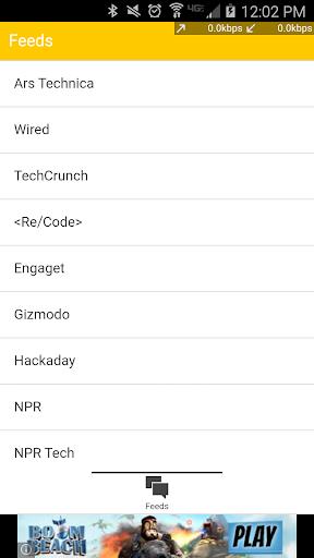 Technology News - RSS Reader