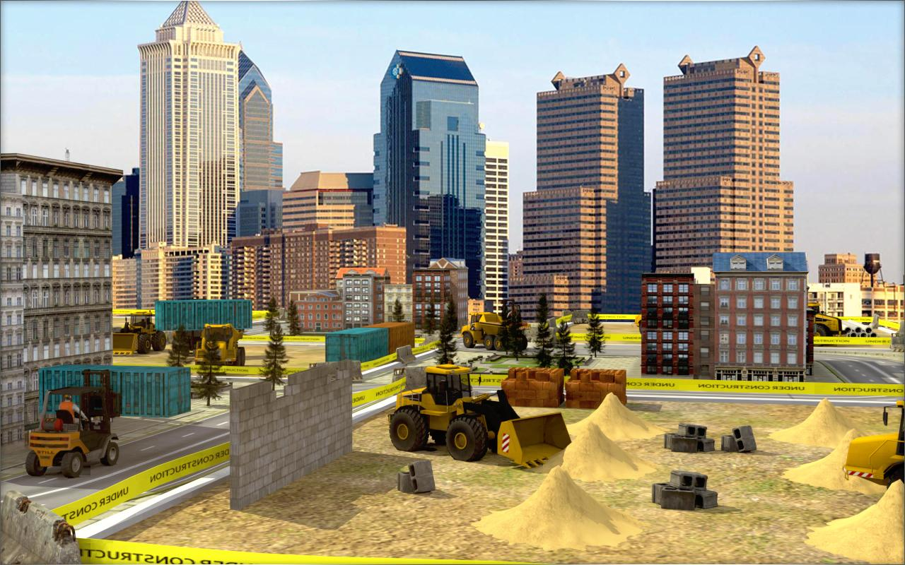 Construction Simulator: Building city 2017