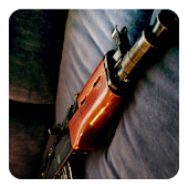 AK-47 rifle Widget