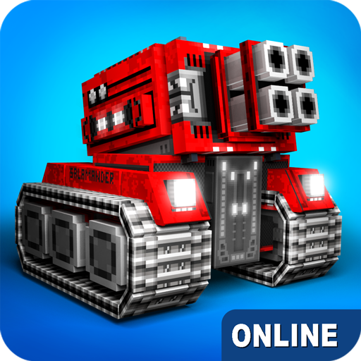 Blocky Cars - online games, tank wars