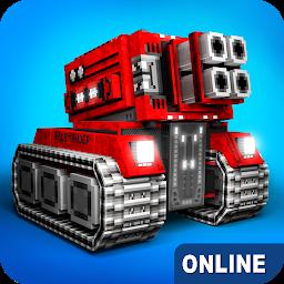 2月5日にオススメゲームに選定 面白いと評判のアクションゲーム Blocky Cars ブロック状の車 タンクトップ オンラインゲーム Androidゲームズ
