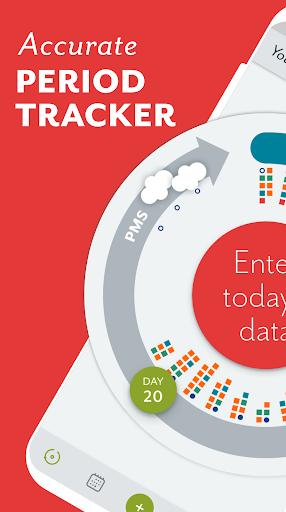 Period Tracker Clue: Period, Ovulation Tracker App 5.5.1 screenshots 1