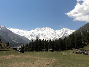 Photo: AN ENCHANTED VIEW OF NANGA PARBET FROM FARRY MEADOWS