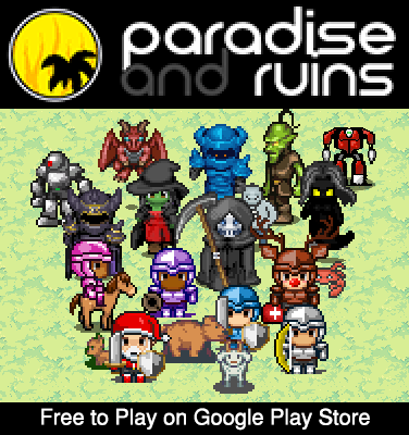 Paradise and Ruins 2D MMORPG MMO RPG Online screenshots 1