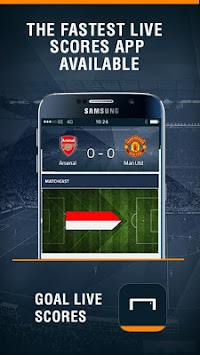 Στόχος Live Scores APK screenshot thumbnail 1