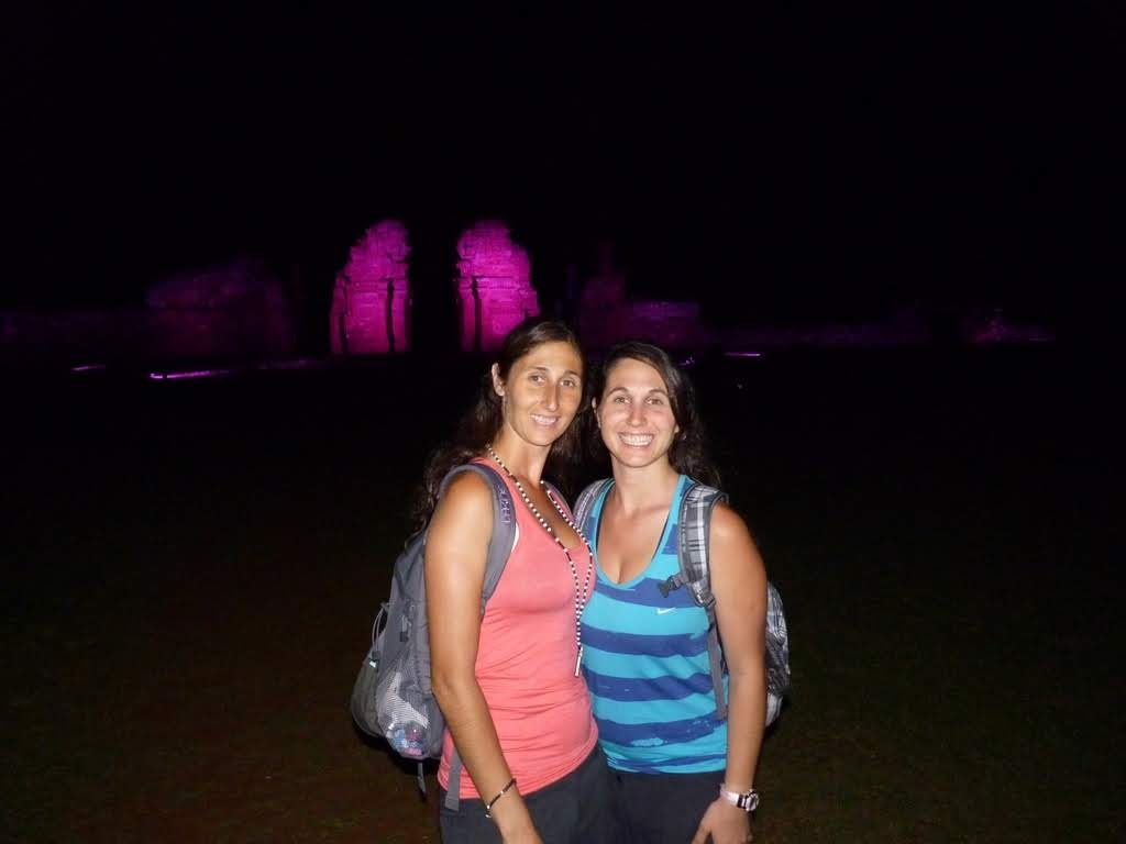 Show de luces Ruinas de San Ignacio Miní