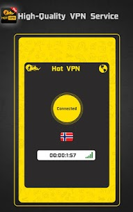 Hot VPN Pro – HAM Paid VPN Private Network v1.2 [Paid] 2