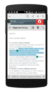 Nigerian Police Act - náhled