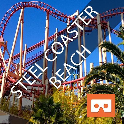 VR Roller Coaster Beach 3D
