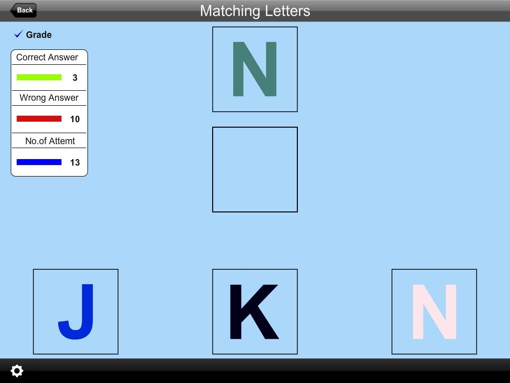 Alphabet Matching Letters Lite- screenshot