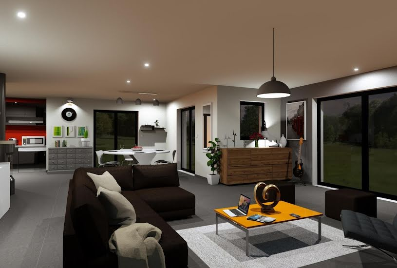 Vente Terrain + Maison - Terrain : 365m² - Maison : 146m² à Saint-Herblon (44150)