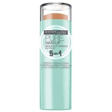 //Corrector Maybelline   Pure Stick Crema 5 En 1 Soleado 310 X1Und.