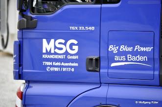 Photo: Die Schwerlasttransporte der Herrenknecht-TBN-Komponenten führt MSG aus