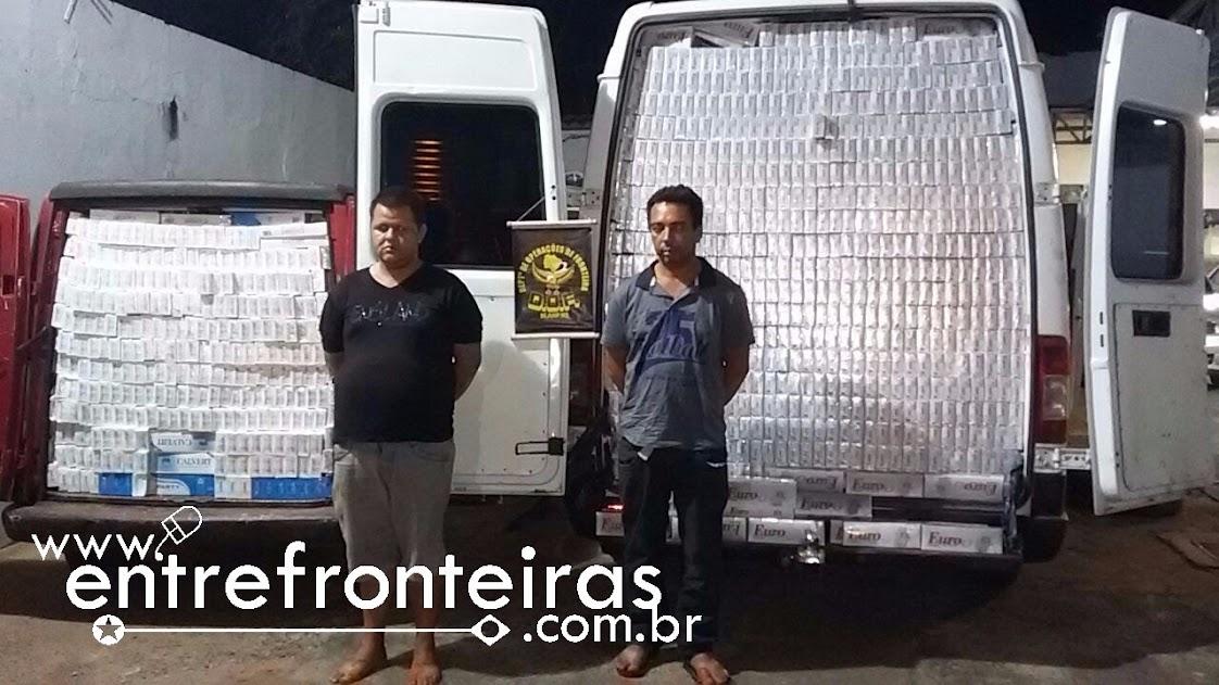 DOF APREENDE QUASE R$500.000,00 EM CIGARROS