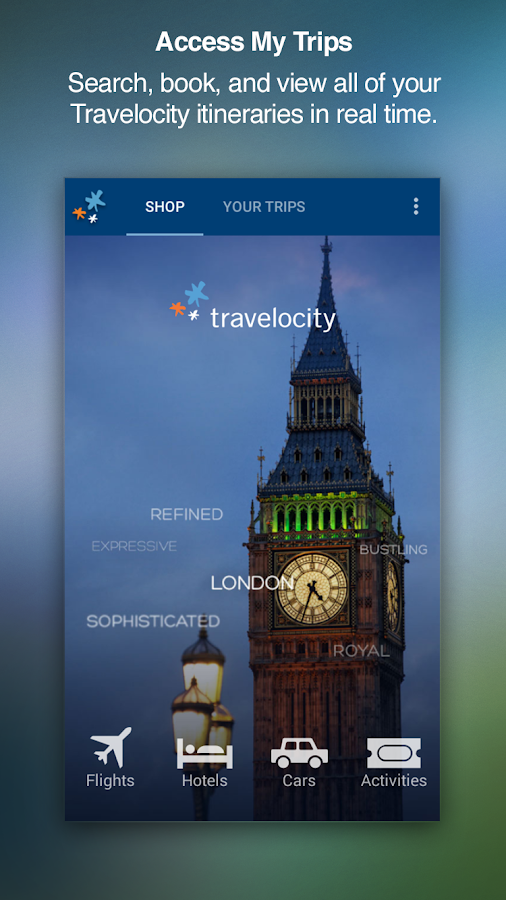 Travelocity Hotels & Flights- screenshot