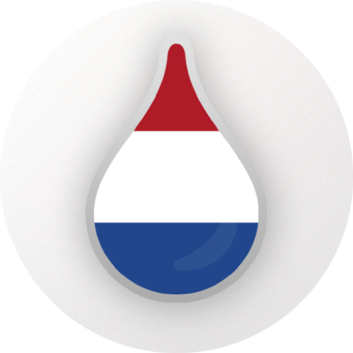 Drops: Learn Dutch language fast! Icon