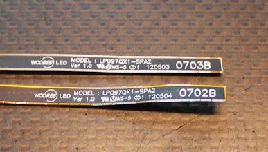 Photo: Backlight label