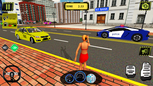 Taxi Simulator New York City - Taxi Driving Game 2.4.4 screenshots 2