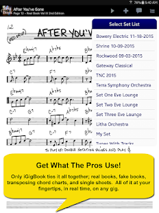 iGigBook Sheet Music Manager- screenshot thumbnail