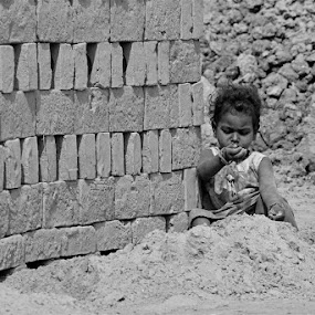 Childhood by Atreyee Sengupta - Babies & Children Child Portraits