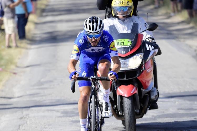 Een kanshebber? Julian Alaphilippe staat in 2020 aan de start van de Ronde van Vlaanderen