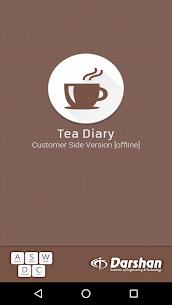 Tea Diary 1
