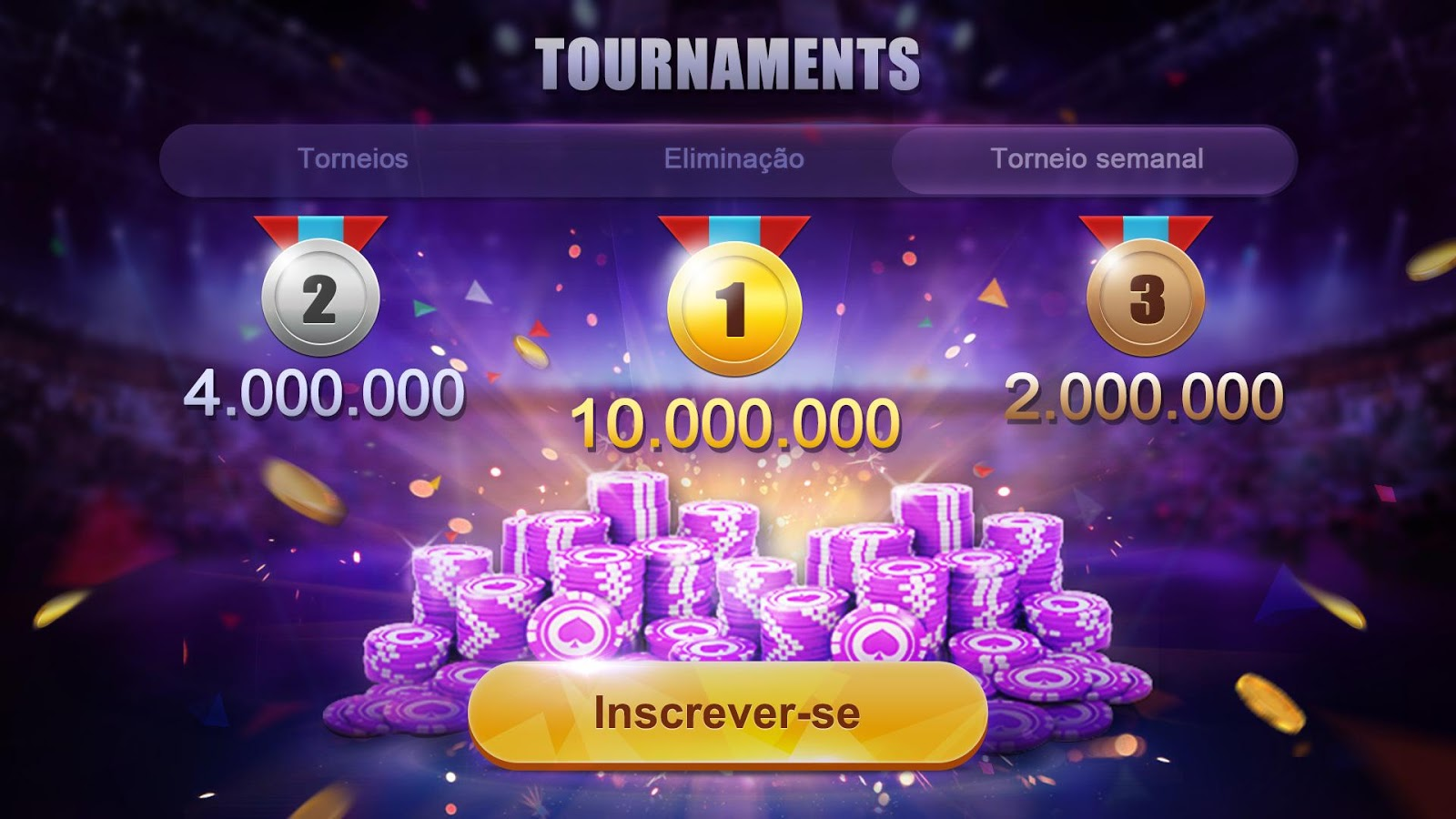 Poker Brasil- screenshot